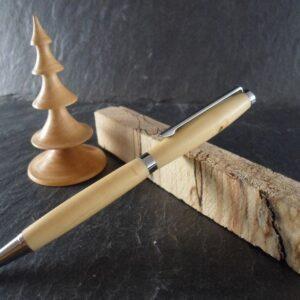 stylo bille en bois de buis