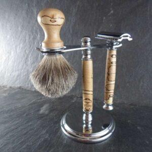 set barbier Hêtre Échauffé n°2