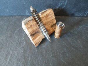 stylo en bois tourné