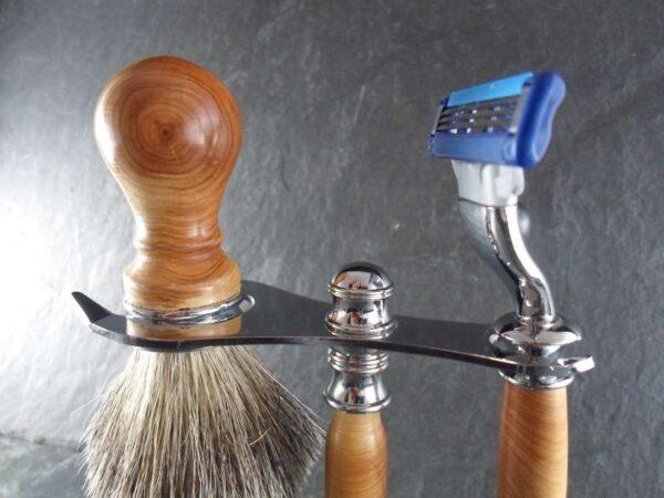 set barbier en bois